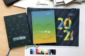 Edel und öko – nachhaltige Printprodukte für die Leibniz School of Education