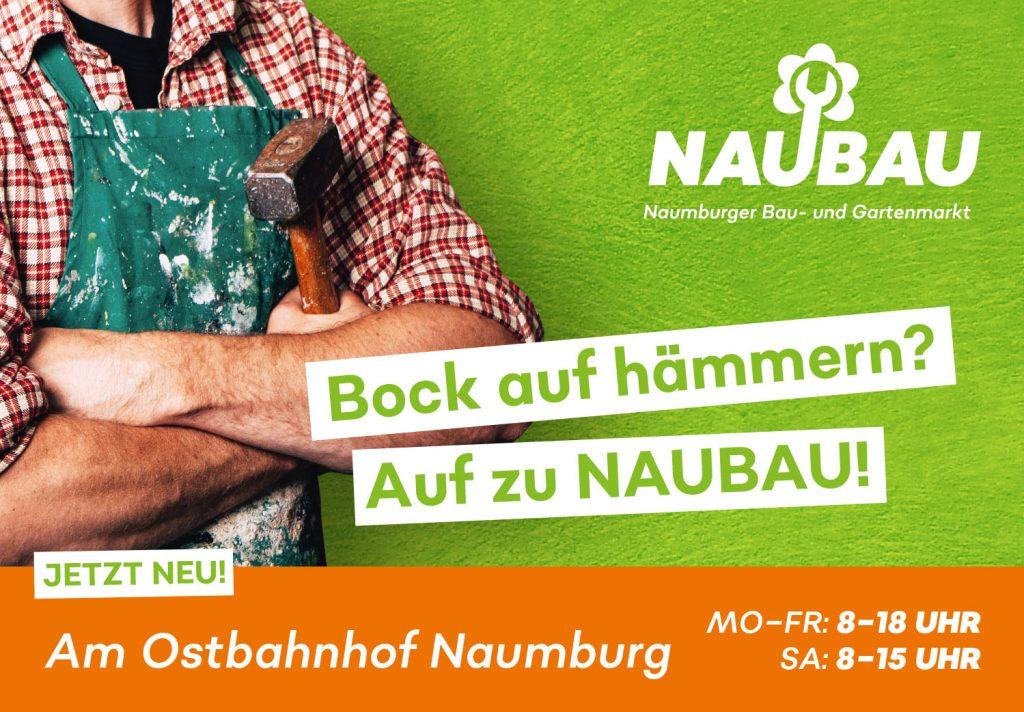 Plakatgestaltung für Bau- und Gartenmarkt